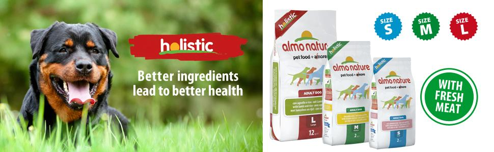 Almo Nature HOLISTIC natural dog food