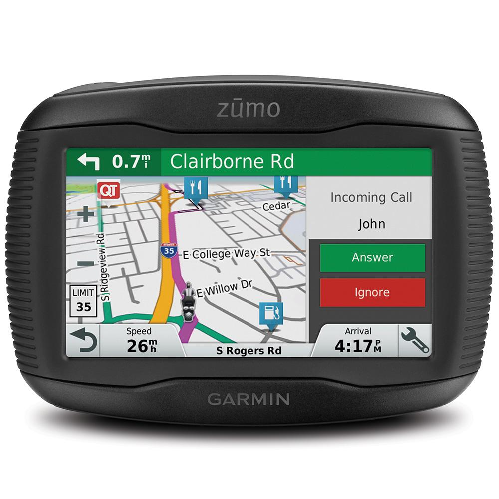 garmin zumo 345lm 4 3 inch motorbike satellite navigation with uk ireland and western europe. Black Bedroom Furniture Sets. Home Design Ideas