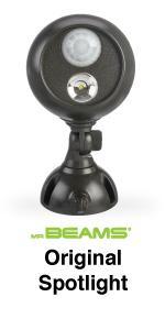 mr beams spotlight, led spotlight, wireless motion spotlight