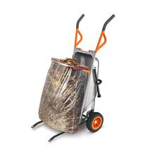 worx aerocart, garden tidy up, refuse bag, wheelbarrow attachment, wheel barrow