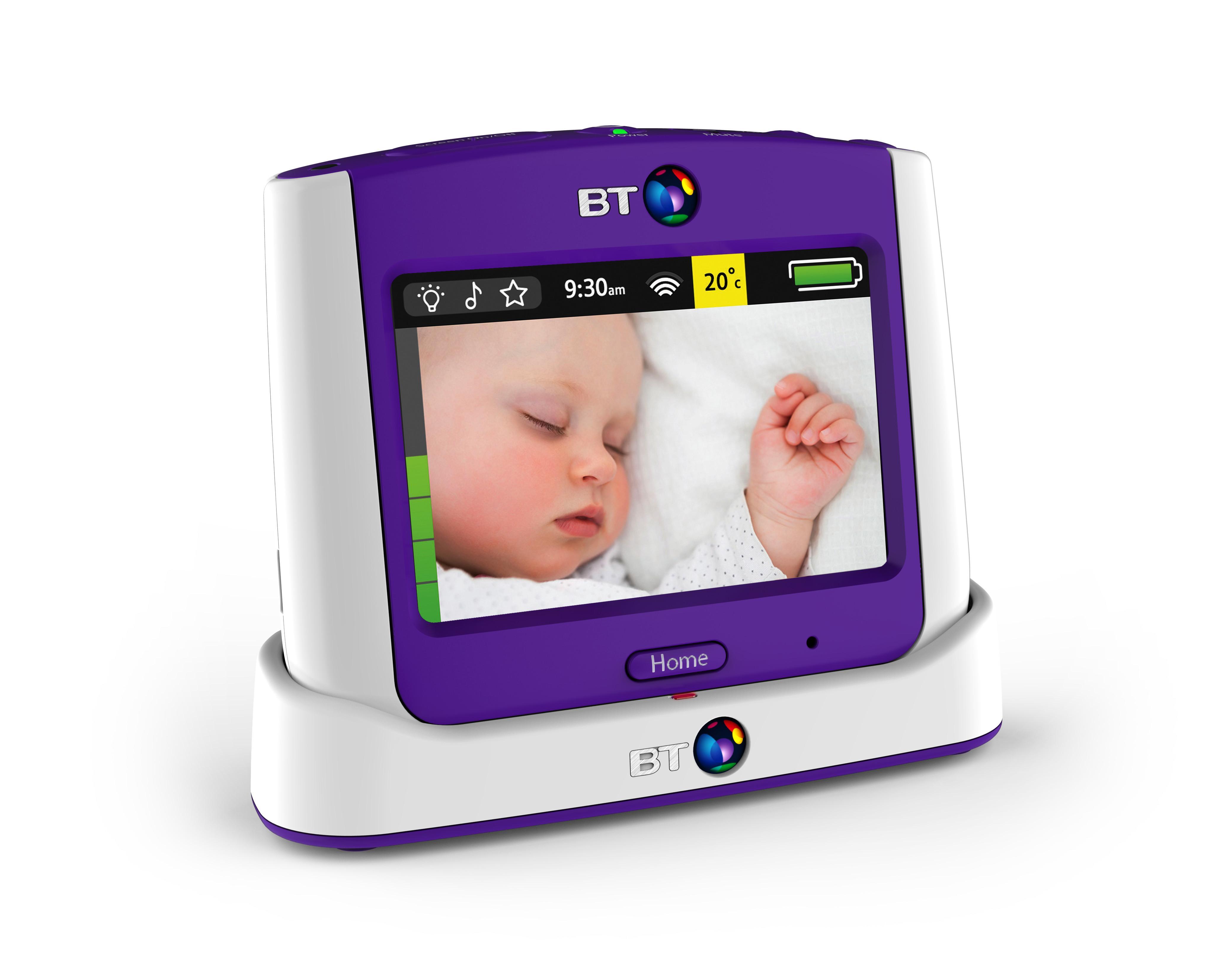 bt video baby monitor 7500 lightshow baby. Black Bedroom Furniture Sets. Home Design Ideas