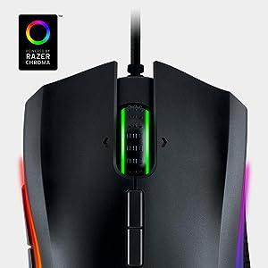 6e96ab773ec The most precise gaming mouse sensor with 16,000 DPI. Boasting the world's  most precise 16,000 DPI gaming mouse sensor, the Razer Mamba Tournament  Edition ...