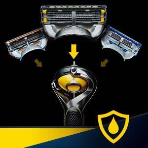 Gillette Fusion ProShield Razor Puls Three Refill Razor Blades Gift Set for Men