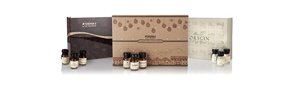 Drinks by the Dram Advent Calendars