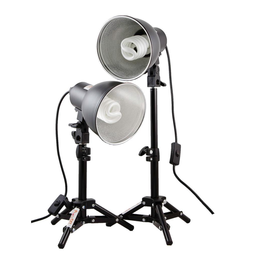 Studio Lighting Kit Amazon: PhotoSEL LS11E22 26-40cm Tabletop Studio Lighting Kit