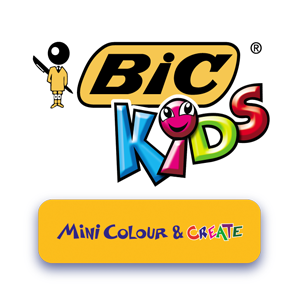 the bic kids mini kid couleur are small portable felt tips that encourage creativity and early development in children aged three and over