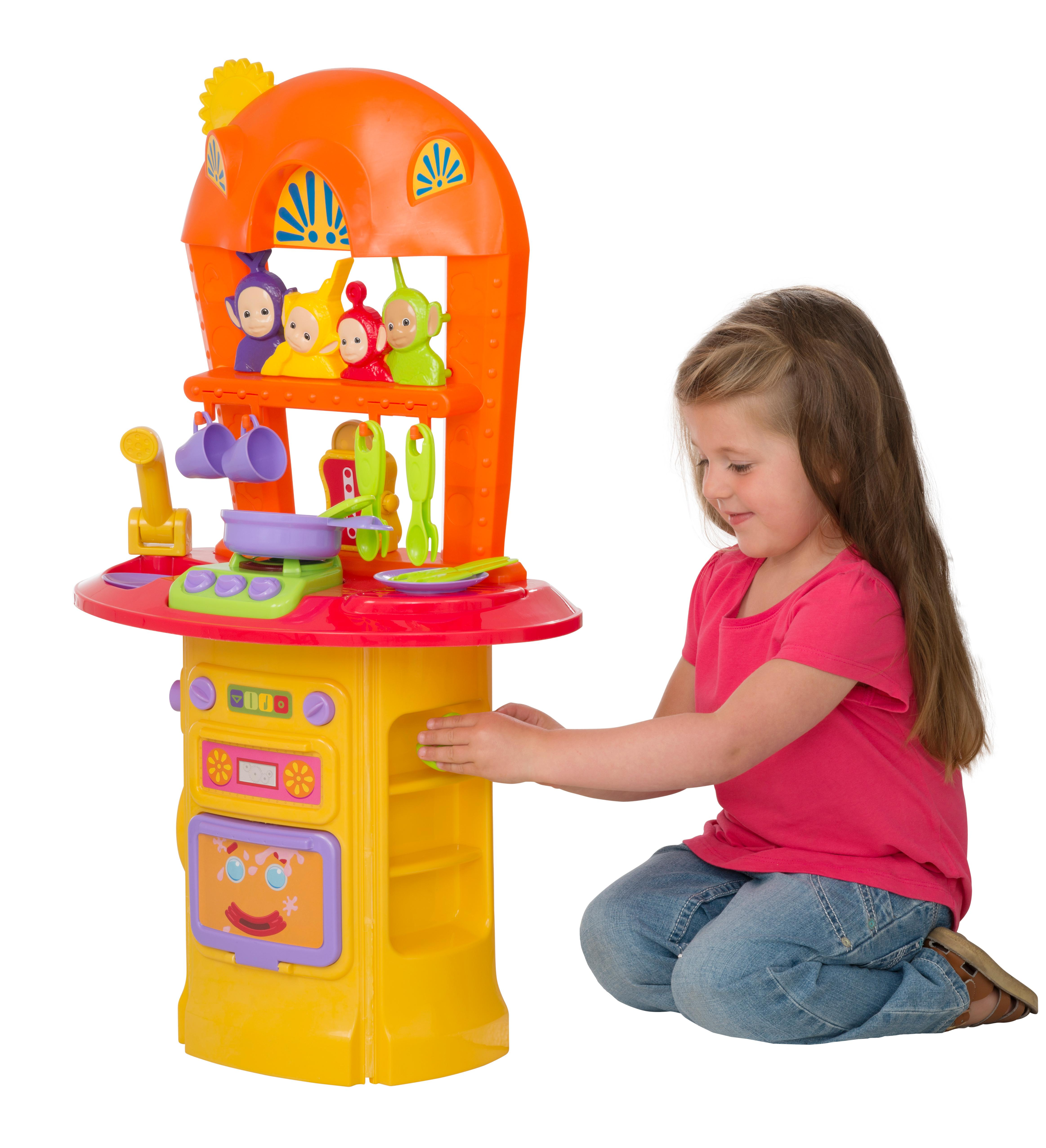 Kitchen Accessories Amazon Uk: Teletubbies 1684126 My First Kitchen With Lights Sounds