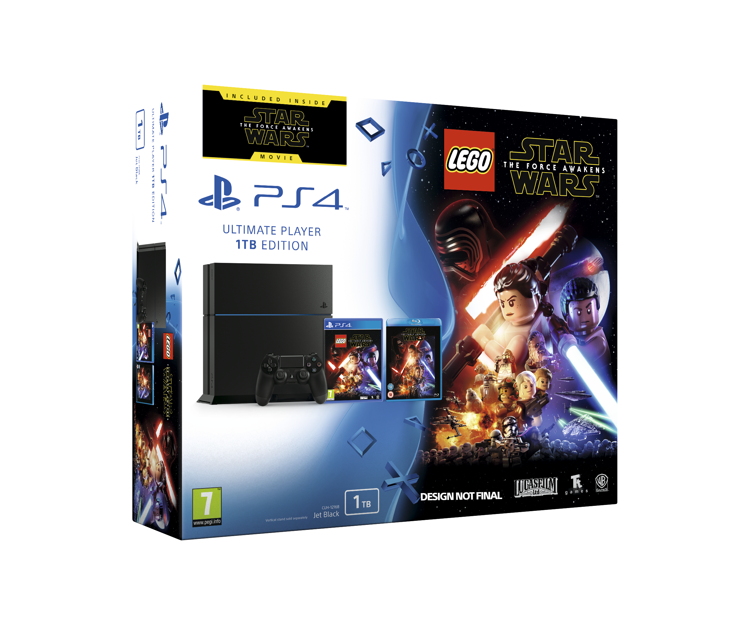 Sony PlayStation 4 1TB with LEGO Star Wars: The Force