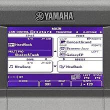 Yamaha PSRS670 Portable Keyboard