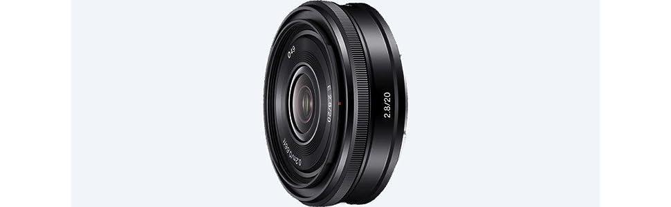Sony, SEL20F28, Alpha NEX Series Lens, 20mm wide angle F2.8, Camera Lens