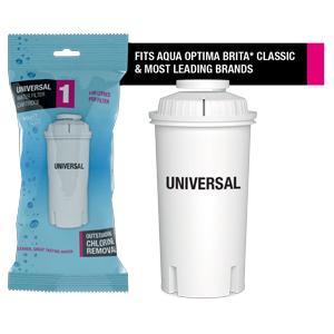 Aqua Optima Universal filter fits Aqua Optima, Brita* Classic and most leading brands