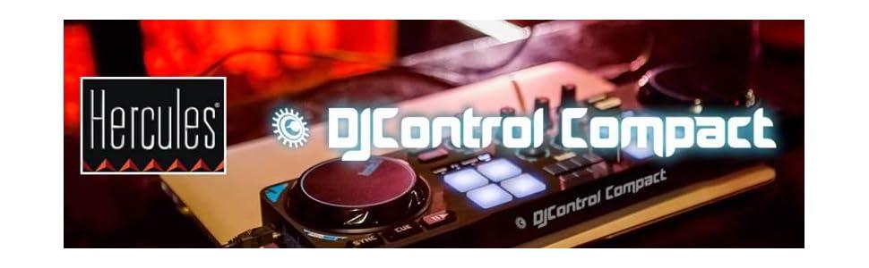Hercules DJ Console Compact, Compact DJ, Compact, Hercules, Portable DJ,