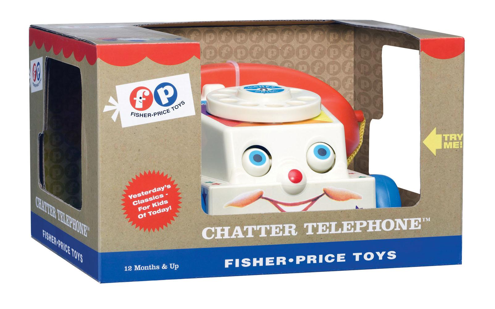 Fisher-Price Classics 1694 Chatter Telephone: Amazon.co.uk ...