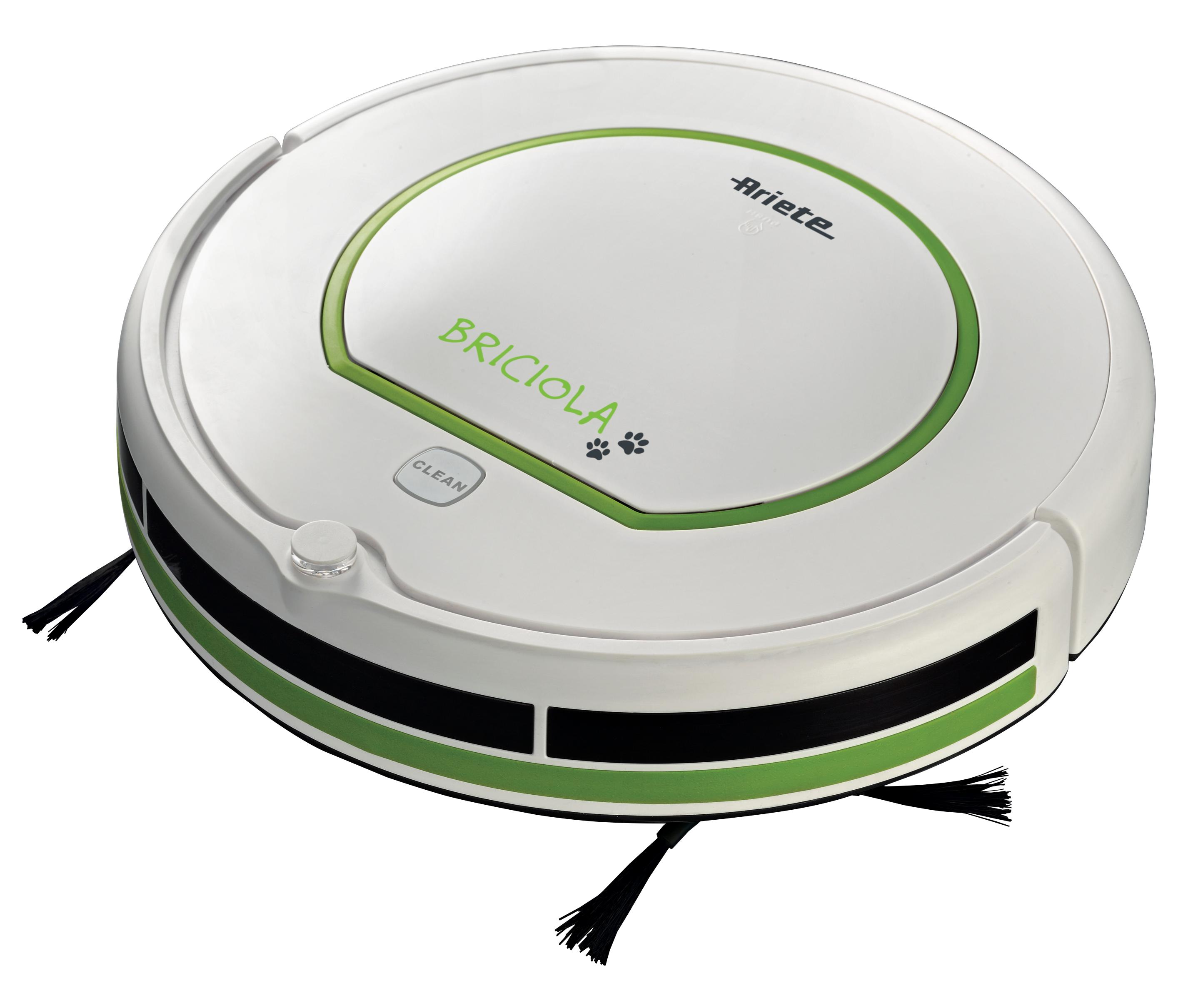 Ariete briciola robotic vacuum cleaner 25 watt green for Ariete cordless sweeper