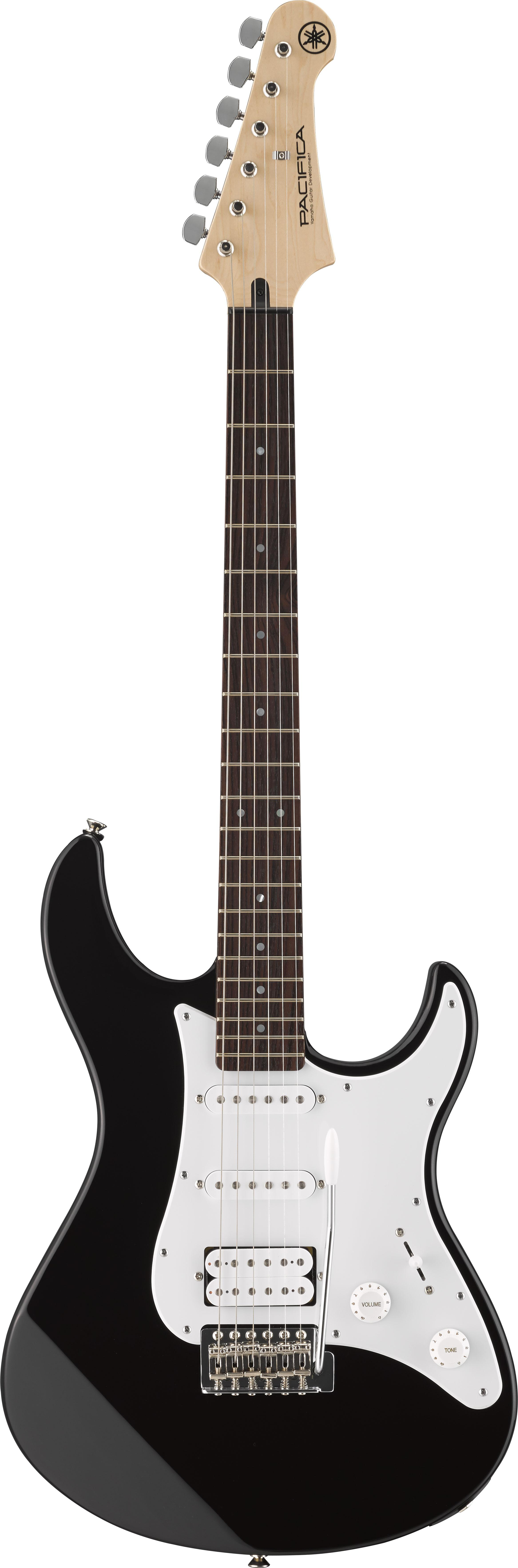 yamaha pacifica 012 full size electric guitar black musical instruments. Black Bedroom Furniture Sets. Home Design Ideas