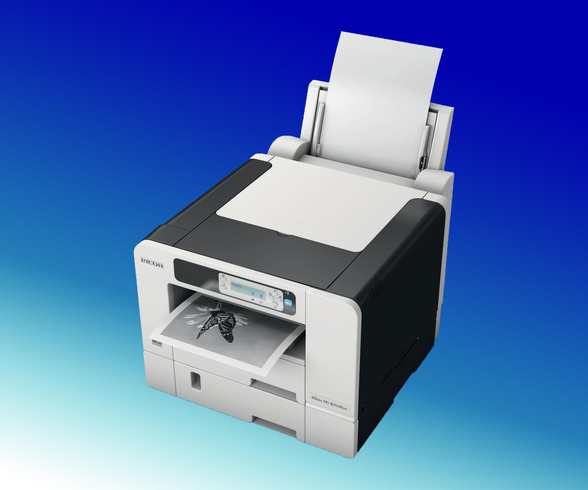 Drivers Update: Ricoh Aficio SG K3100DN Printer PCL 5c