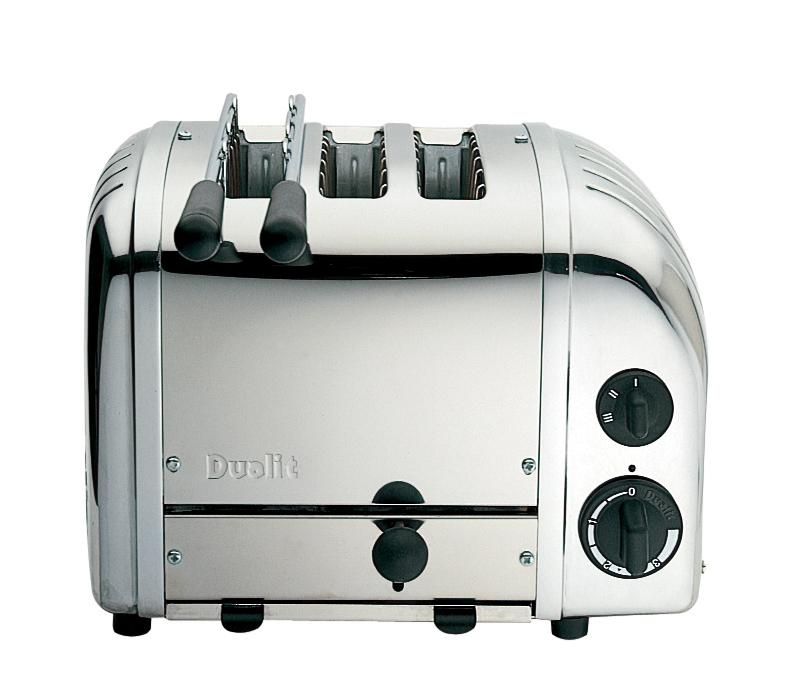 Dualit 3 Slice Combi Toaster Polished Stainless Steel 31213 ...