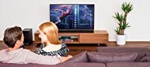 Sony, BDP-S7200, 4K Upscale Blu-Ray Disc Player, Super Wifi, High-Resolution Audio, Dual Core