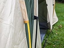Colour-coded poles