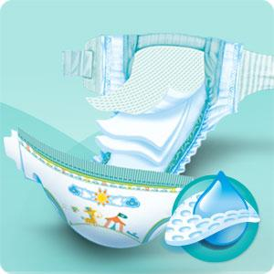 Pampers Baby Dry M5++ nappies