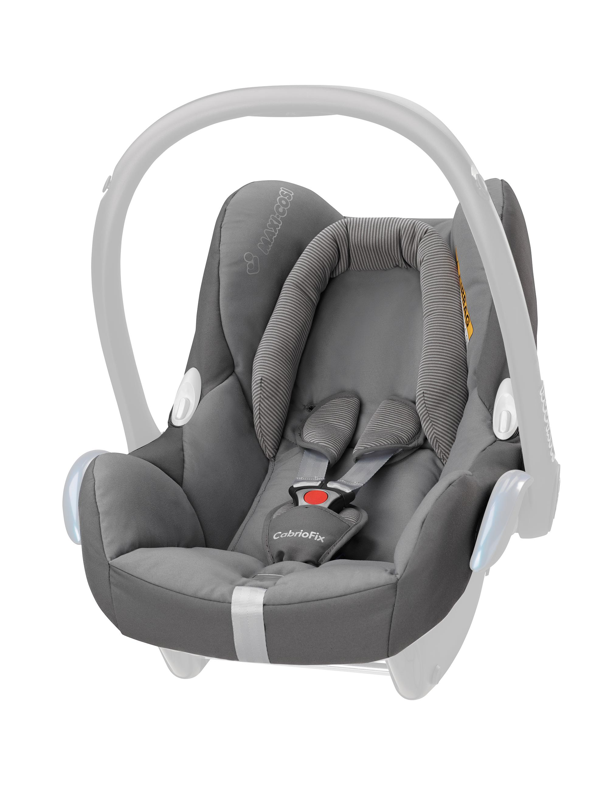 maxi cosi 96170067 cabriofix seat cover concrete grey. Black Bedroom Furniture Sets. Home Design Ideas