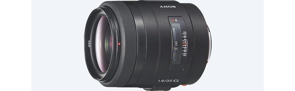 Sony, SAL35F14G, alpha 35mm f1.4 g lens, camera lens