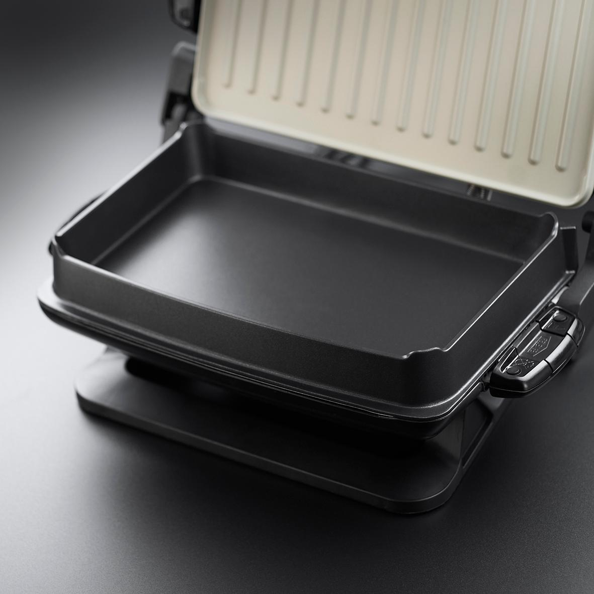 George foreman evolve family 5 portion grill with omelette - George foreman replacement grill plates ...