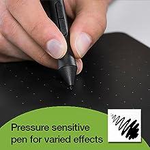 Pressure sensitive