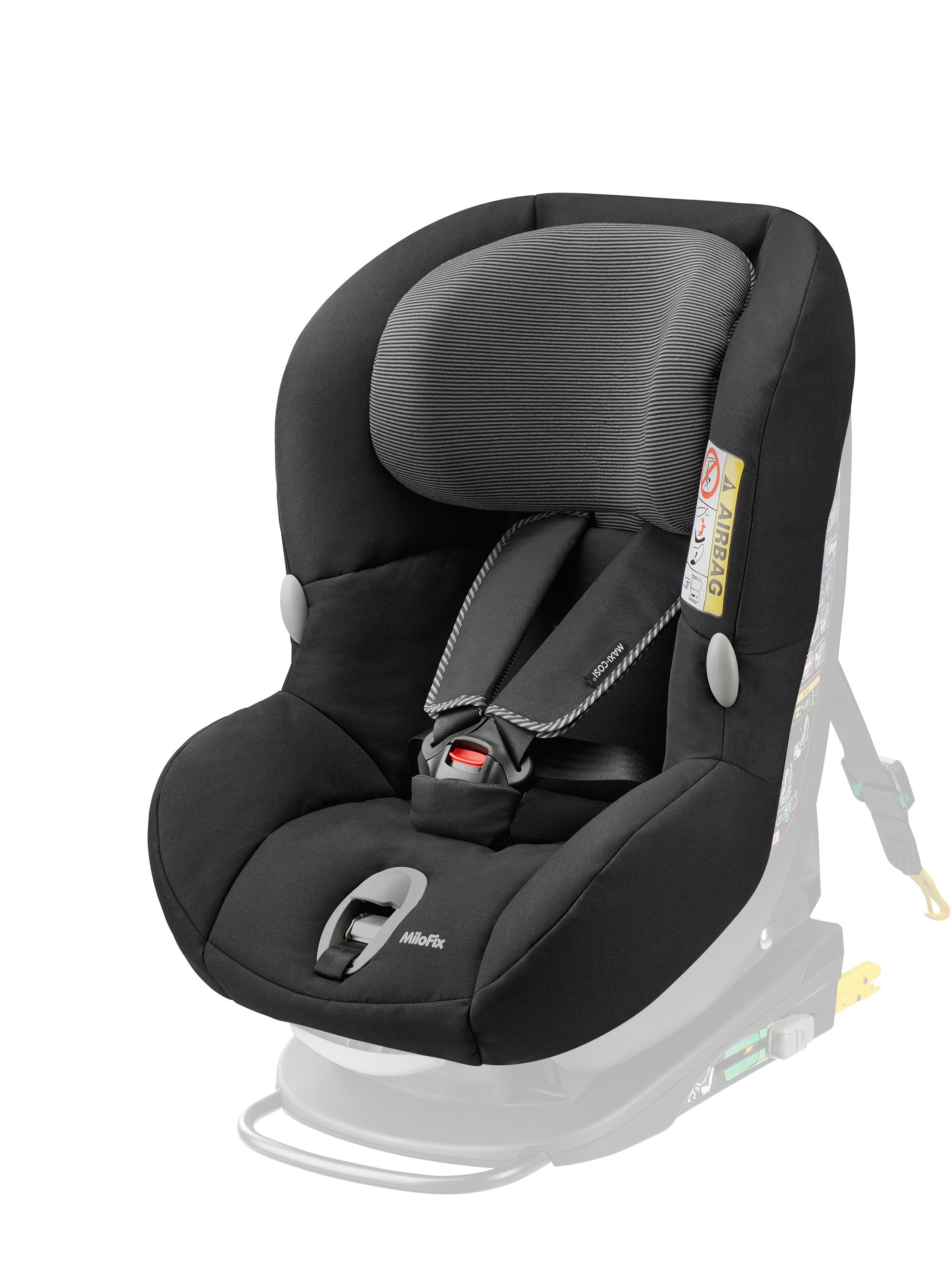 maxi cosi milofix car seat replacement cover black raven. Black Bedroom Furniture Sets. Home Design Ideas
