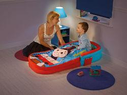 Thomas And Friends ReadyBed Is A Unique 2 In 1 Airbed Sleeping Bag