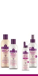 aussie mega shampoo conditioner