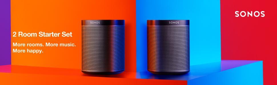 sonos speakers 2 room starter set