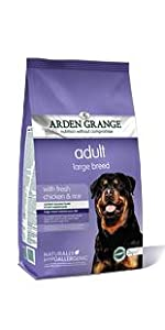 Arden Grange; Chicken & Rice; Adult; Dog Food; Large Breed