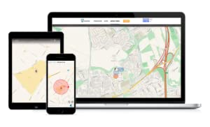 GPS Tracker, iPhone, Android, Windows Phone, GPS Tracker for dogs and cats