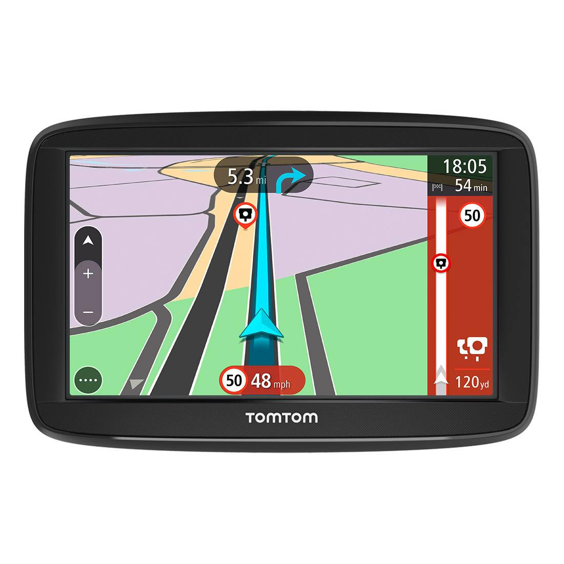 tomtom start 52 5 inch sat nav with uk lifetime maps. Black Bedroom Furniture Sets. Home Design Ideas