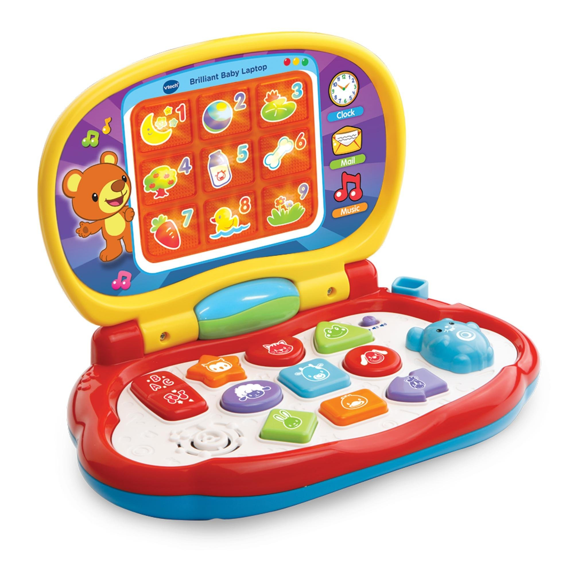 VTech Baby Baby s Laptop Multi Coloured VTech Baby Amazon