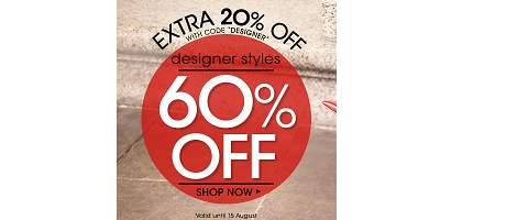 60% off Designer Brands at Javari.co.uk