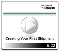 Creating Your First Shipment