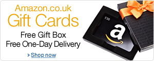 Amazon Gift Cards in a Free Gift Box