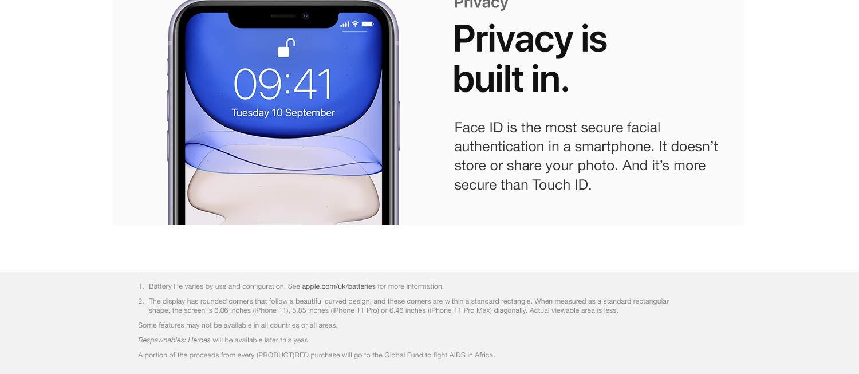 Apple Iphone 11 64gb Product Red Amazon Co Uk