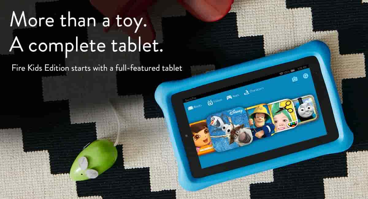 More than a toy. A complete tablet.