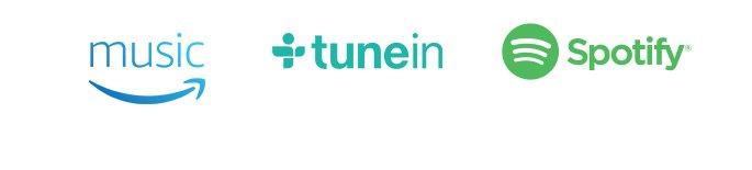 Amazon Music   TuneIn   Spotify
