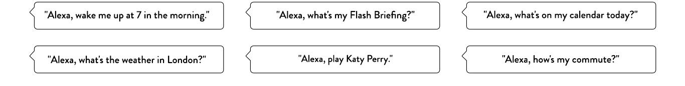 Alexa, what's on my calendar today?