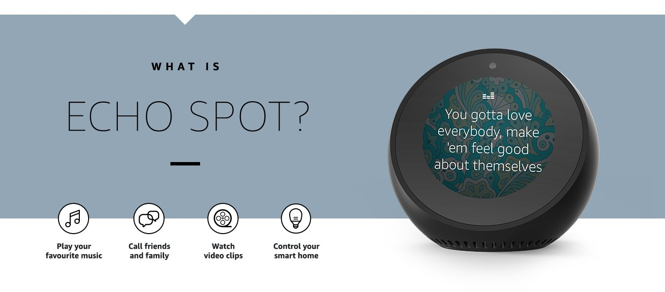 can amazon echo spot connect to an unpowered speaker