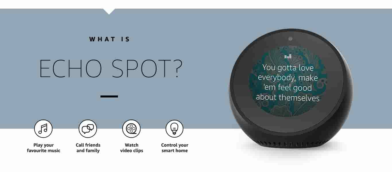 What is Echo Spot?