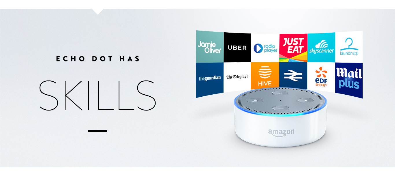Echo Dot has Skills