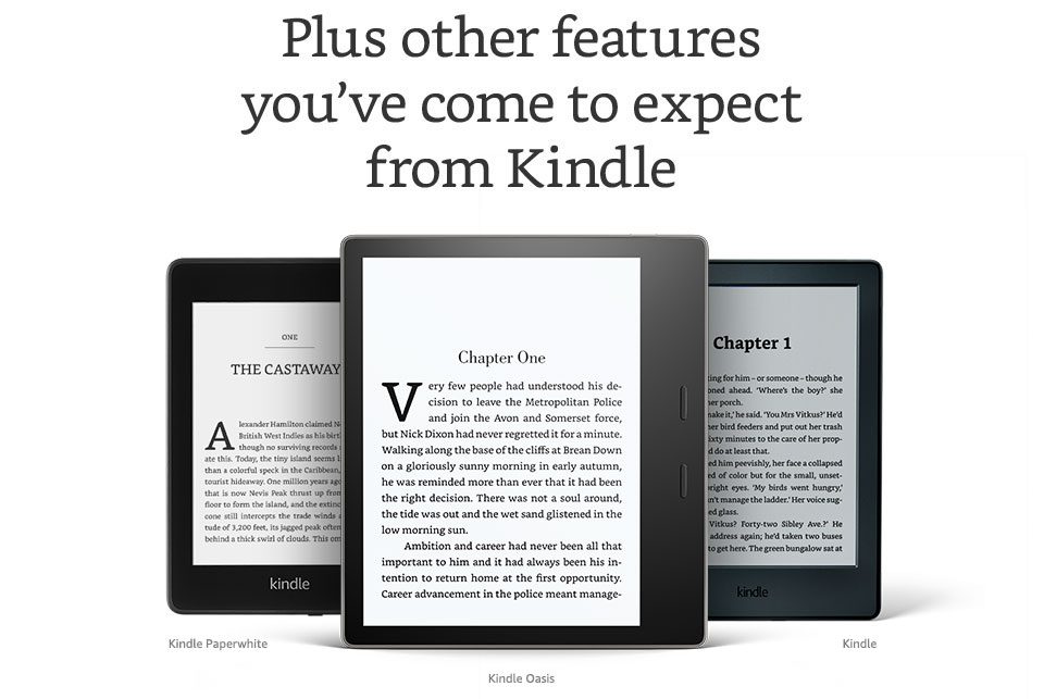 3c068a9ddd8bed Kindle e-reader | E-book reader with touchscreen display