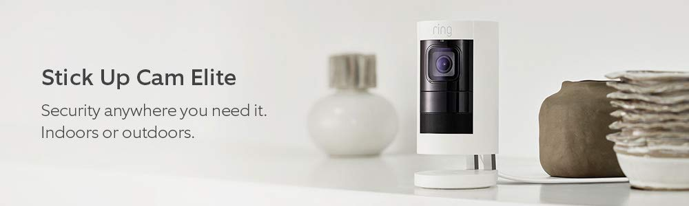 Security anywhere you need it. Indoors or outdoors.