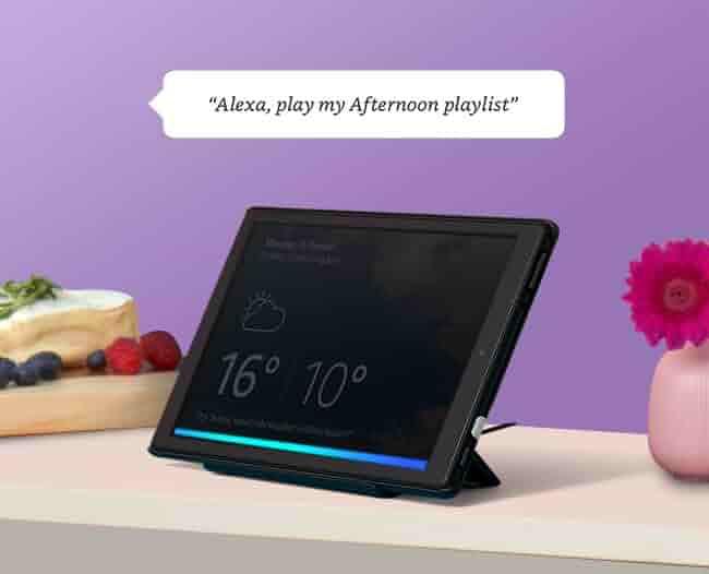 Alexa on Fire tablets
