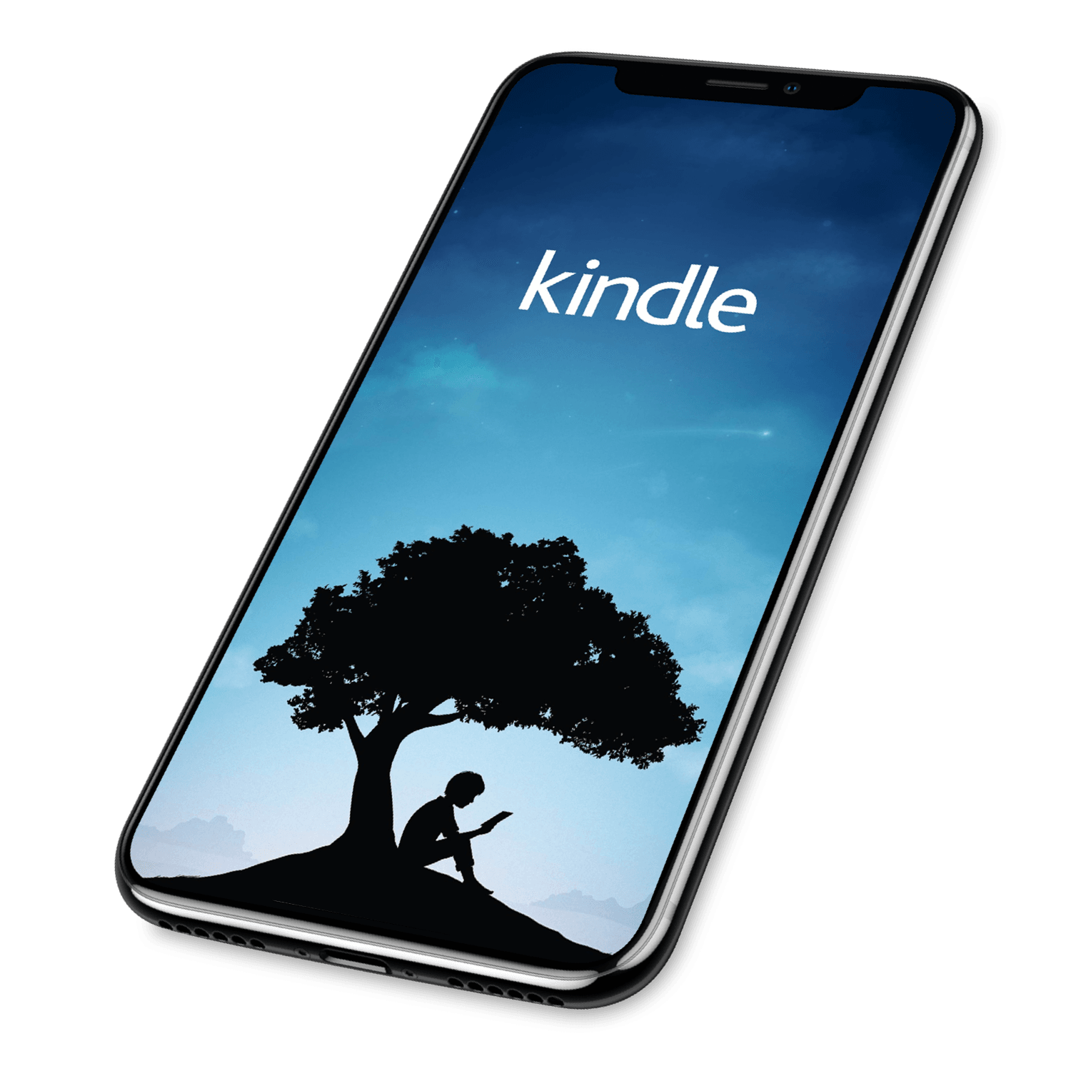 iphone with kindle app